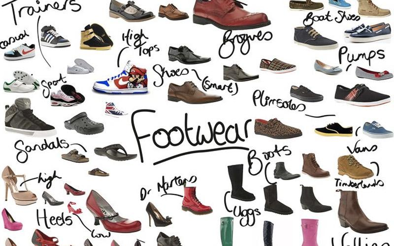 Size giày và dép có sự khác biệt nhưng không nhiều